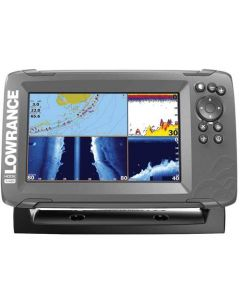 Lowrance HOOK 5x with SplitShot Transducer and GPS Plotter