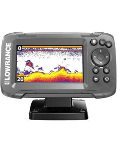 Lowrance HOOK 4x with Bullet Transducer and GPS Plotter