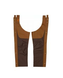 Browning Upland Chaps - Chocolate/Tan