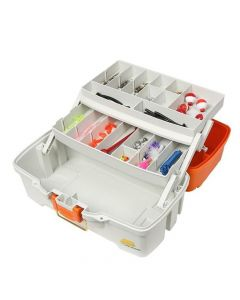 Plano Let's Fish! Two-Tray Tackle Box