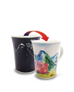 Ollee Bee Color Changing Porcelain Story Mug - Adventure