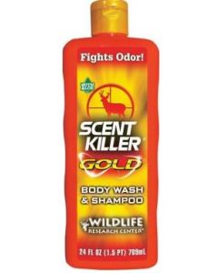 Wildlife Research Center Scent Killer Gold Body Wash and Shampoo