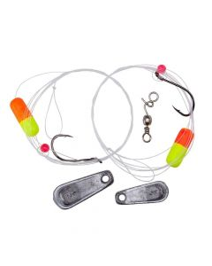 Lindy Floating Minnow Rig Flourescent Yellow