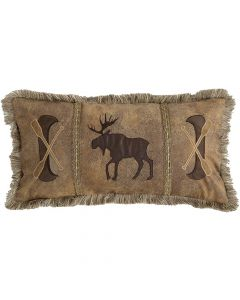 Carstens Canoe & Moose Pillow
