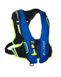 Onyx Impulse A/M-24 All Clear Auto/Manual Inflatable Life Jacket - Blue - Universal