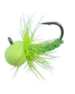 Northland Tungsten Punch Fly 1/16 oz Glo Chartreuse