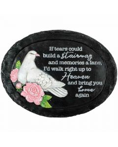 Carson Home Accents If Tears Garden Stone