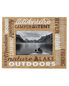 Carson Home Accents Outdoors Picture Frame 4x6