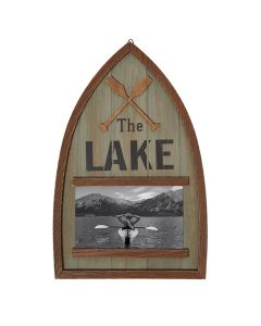 Carson Home Accents Lake Paddles Picture Frame