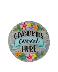 Carson Home Accents Garden Stone - Grandkids Loved Here
