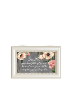 Carson Home Accents Music Box - Wonderful Daughter