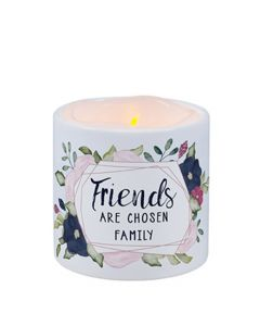 Carson Home Accents LED Candle - Friends are Chosen Family