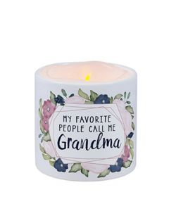 Carson Home Accents LED Candle - My Favorite People Call Me Grandma