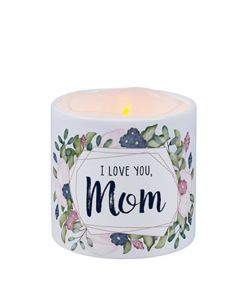 Carson Home Accents LED Candle - I Love You Mom