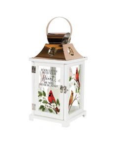 Carson Home Accents LED Lantern - Listen With Your Heart