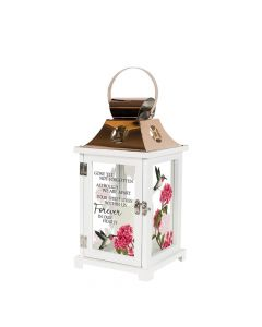 Carson Home Accents LED Lantern - Forever in our Hearts