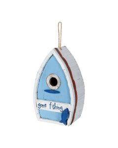 Carson Home Accents Gone Fishing Boat Birdhouse