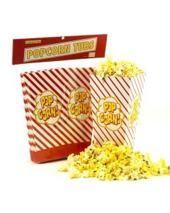 Wabash popcorn Pop Open Tubs 8ct