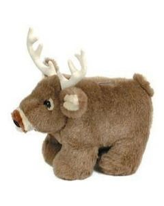 Carstens Whitetail Deer Plush Coin Bank