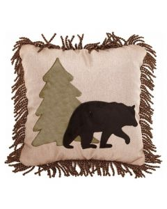Carstens Bear and Tree Pillow