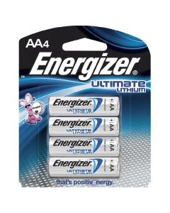 Eveready Lith Battery-AA 4-pk