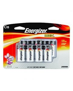 Eveready Batteries-C 8-pak