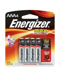 Eveready Batteries-AAA 4-pak