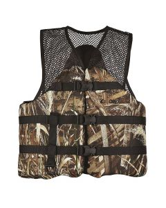 Onyx Realtree Max-4 Camouflage Mesh Classic Sport Vest XLARGE 116200-812-050-15