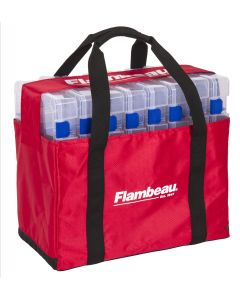 Flambeau Tuff Tainer 5000 Tote w/8 5007 boxes