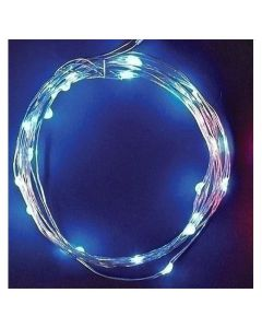 Roman, Inc. Blue Starry Lights 10'