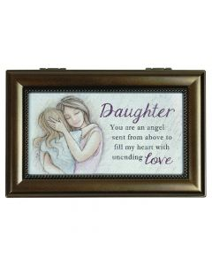Carson Music Box Daughter You Are An Angel Sent From Above
