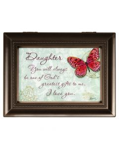 Carson Music Box - Daughter You Are God's Greatest Gift To Me