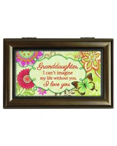 Carson Music Box - Granddaughter I Can't Imagine Life Without You
