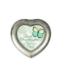 Carson Heart Music Box Sweet Granddaughter You Are Loved