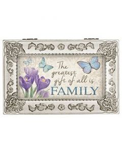 Carson Music Box - Greatest Gift of All Is Family