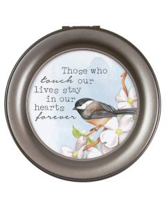 Carson Round Music Box Those Who Touch Our Lives Stay In Our Hearts Forever