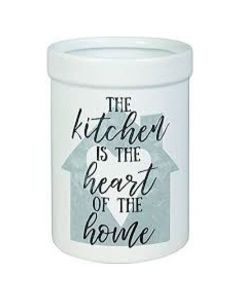 Carson Kitchen is the Heart of the Home Ceramic Utensil Crock