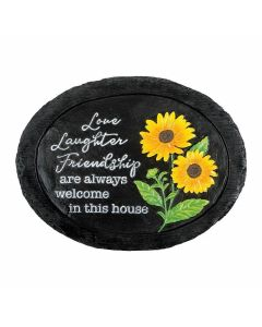 Carson Home Accents Love Laughter Garden Stone