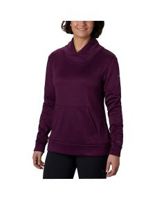 Columbia Place to Place Fleece Pull Over Black Cherry Large