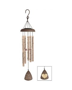 Carson Home Accents Solar Sonnet Chime - Remembering You Is Easy