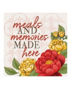 Carson Home Accents Trivet - Meals and Memories
