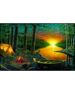 SunsOut Evening by he Lake Puzzle