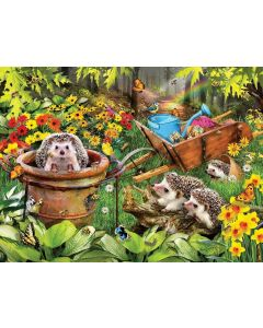 SunsOut Hedgehogs and Bees Puzzle