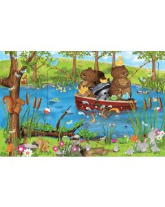 SunsOut Going Fishing Puzzle