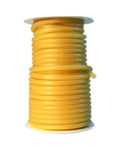 """Danielson Latex Tubing - Amber - 50 ft. - Fits 3/16"""" Wire"""