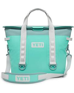 YETI Hopper M30 Soft Cooler - Aquifer Blue