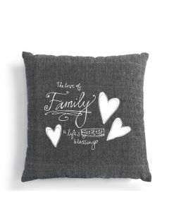 Demdaaco Love of Family Pillow