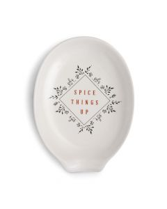 Demdaco Spice Things Up Oval Spoon Rest