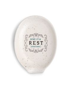 Demdaco Give It a Rest Oval Spoon Rest