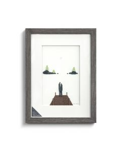 Demdaco Quiet Moments Together Wall Art by Sharon Nowlan